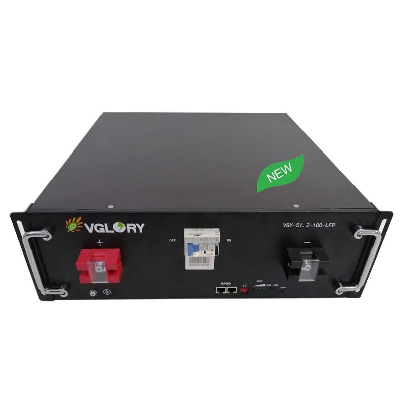 Powerful optional Anti overload solar storage lithium battery 48v 150ah