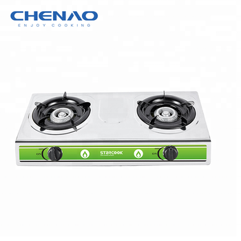 Cheaper Gas Stove South Africa Electric Stainless Steel 2 Burner Gas Cooktops