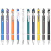 Promotional pen custom logo stylus metal pens with custom logo promotional