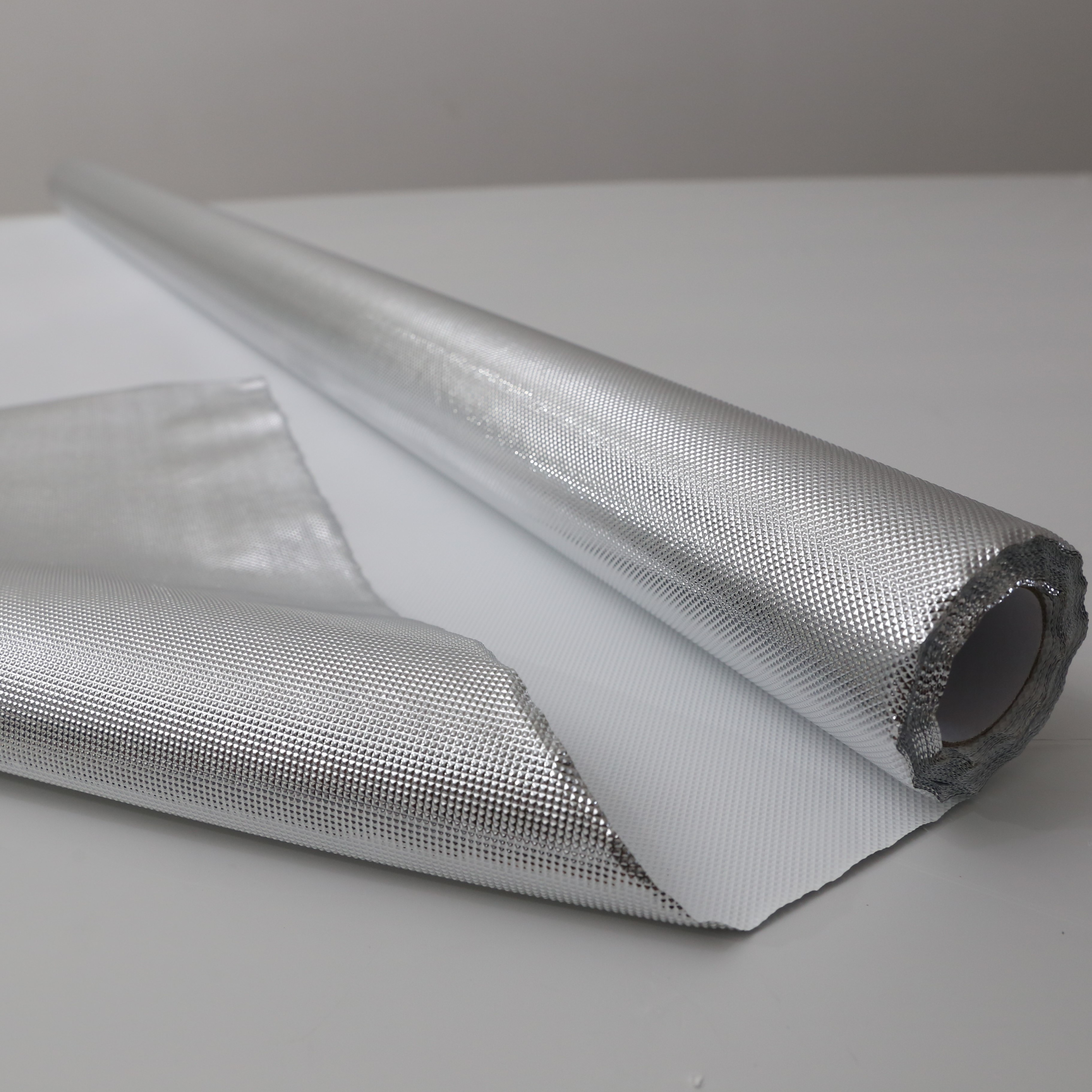 Hydroponic Grow Light Reflective Sheet: 6mil 4ft x 25ft 50ft 100ft Silber Diamant reflektierender Mylar Film