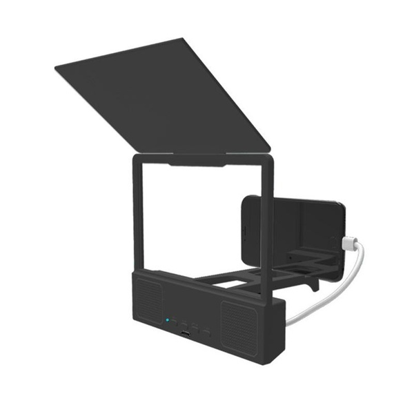 New Hot 8.5 Inch 3D HD Desktop Bracket Mobile Phone Screen Amplifier Magnifier with Bluetooth Speaker