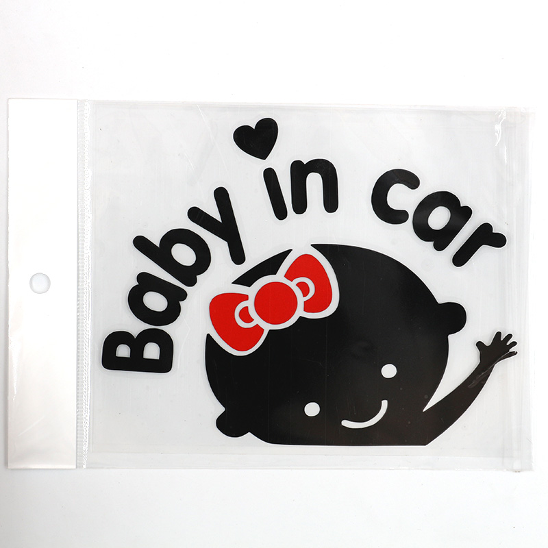 QY <strong>Car</strong> baby products <strong>stickers</strong> high quality <strong>hot</strong> <strong>car</strong> model 3D cartoon <strong>stickers</strong> baby inside the <strong>car</strong> <strong>stickers</strong>