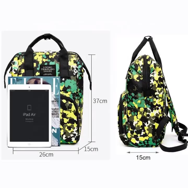 Водонепроницаемый дорожный рюкзак для мамы, модный детский рюкзак для подгузников из полиэстера, сумка для подгузников, рюкзак для мамы, 2020