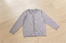 Весенне-летние Однотонные кардиганы для мальчиков и девочек, Повседневный свитер для детей тонкий свитер для маленьких мальчиков и девочек...(Китай)