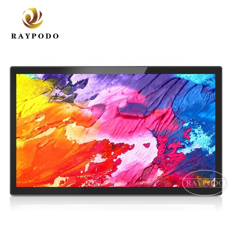 Raypodoアンドロイドタブレットpc 32インチ静電容量式タッチとVESA壁マウント