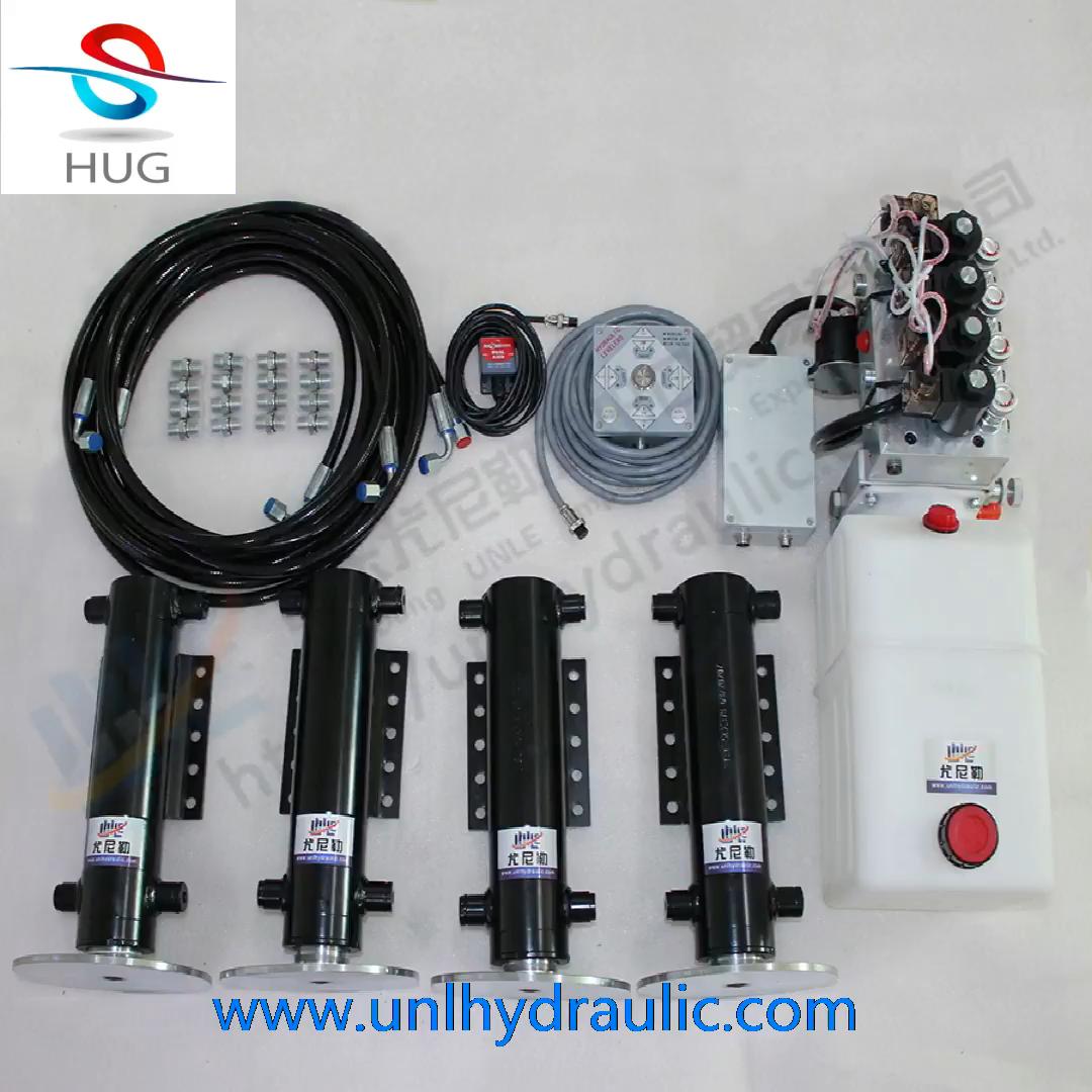 Chine fournisseur automatique de nivellement RV caravane vérin hydraulique hydraulique jambes