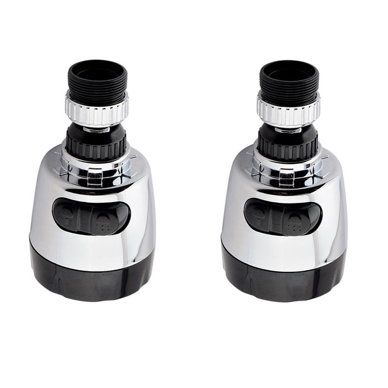 Адаптер для смесителя, регулирующий кран, кухонный кран для душа, 360 градусов, водосберегающая насадка для душа, кухонный кран, фильтрованны...(Китай)