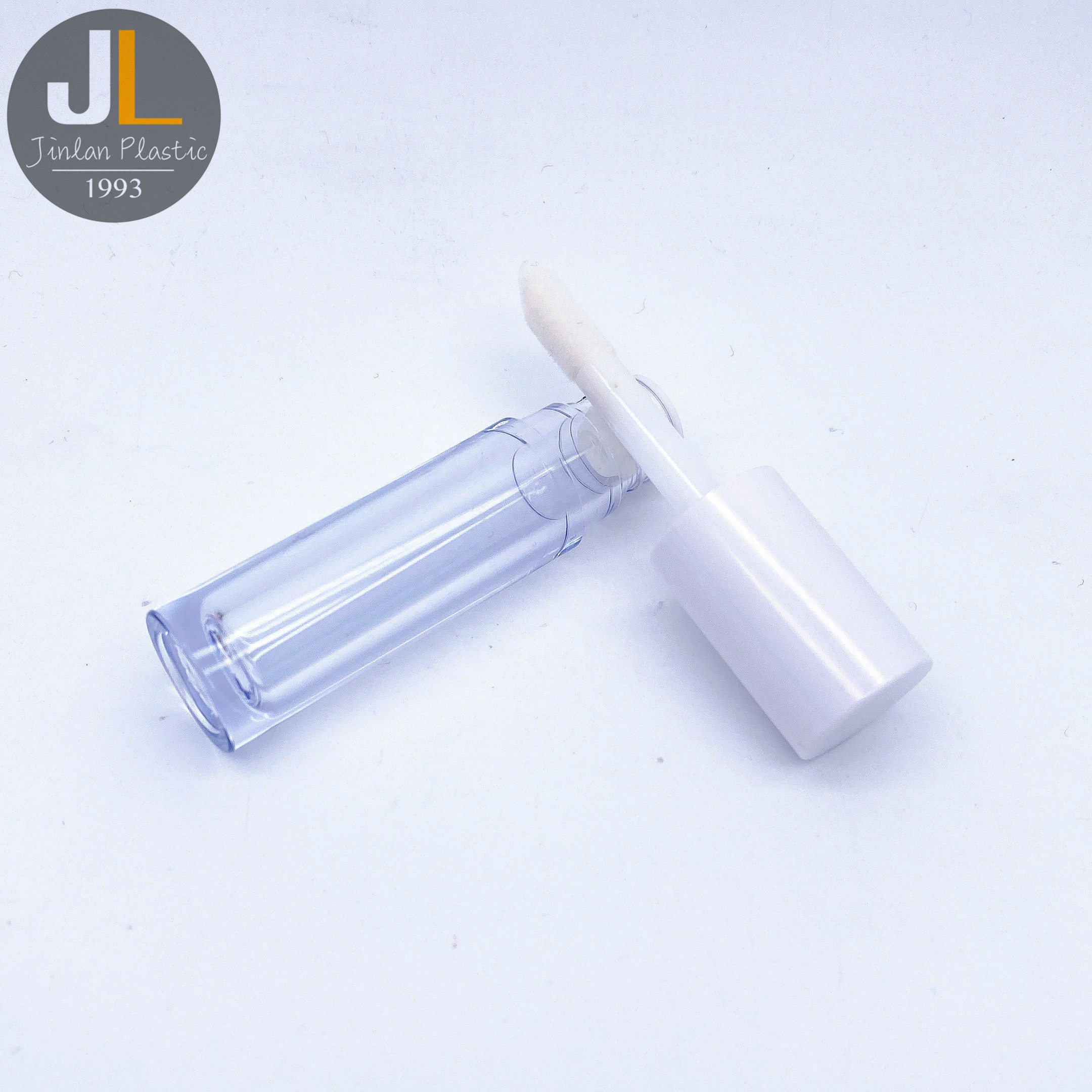 4.5ml Pink Ombre White Acrylic Lip Gloss Container Lipgloss Tube