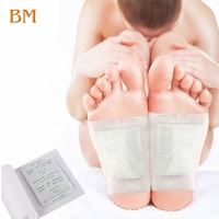 Wholesale Customized Body Relax foot pads Kinoki Detox Foot Patch Bamboo Wood Vinegar