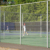 fine 3mm basketball court galvanized chain link fence fabric wire mesh with top rail fence gold supplier