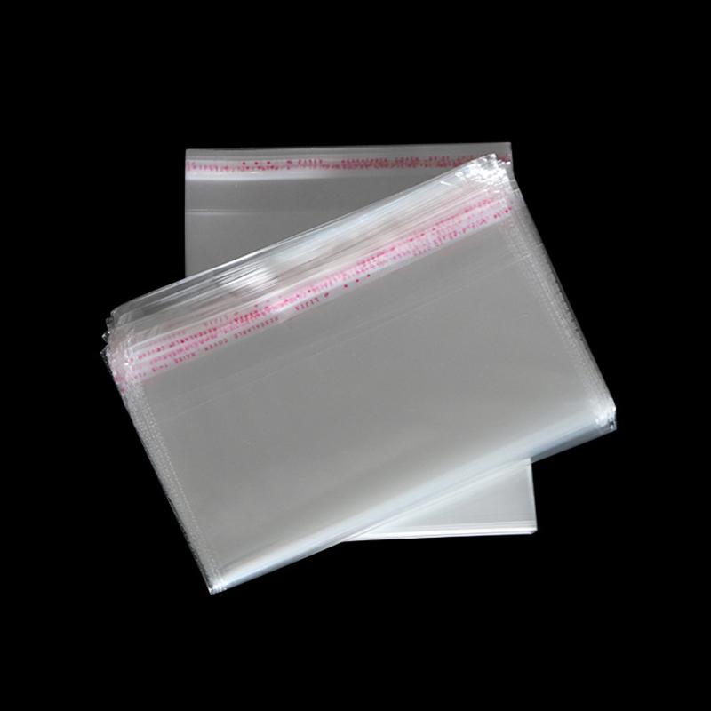 OPP/PE/CPE حقيبة بلاستيكية شفافة ذاتية اللصق حقيبة بلاستيكية