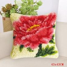 Крючок с большой цветочной защелкой Smyrna Foamiran для рукоделия, коврик сделай сам, подушка с вышивкой, набор подушек с кнопками(Китай)