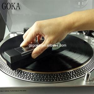 Turntable new arrival handheld velvet vinyl records cleaning brush