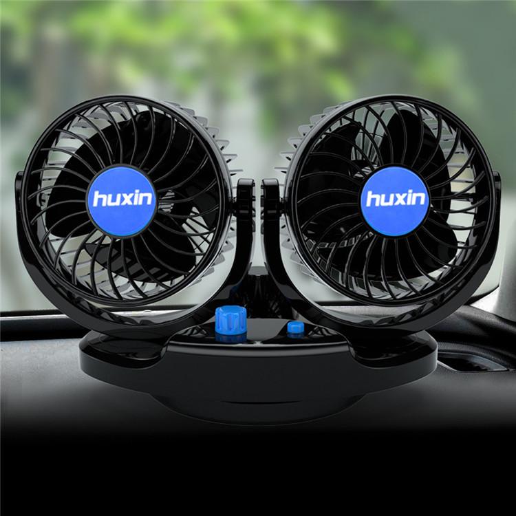 Wholesale Portable Car Cooler Fan Universal Electric 10W 12V Mini Usb Car Cooling Fan