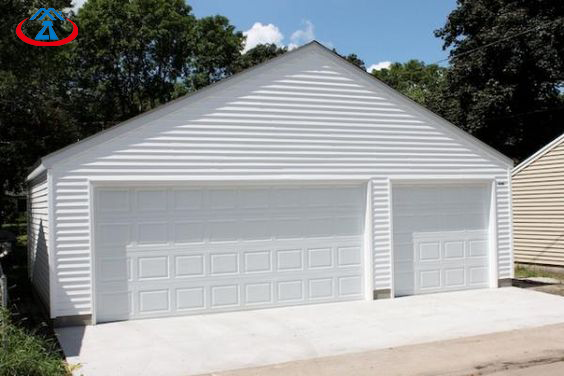 product-8x7 Electric Aluminum With PU Overhead Sectional Garage Door-Zhongtai-img