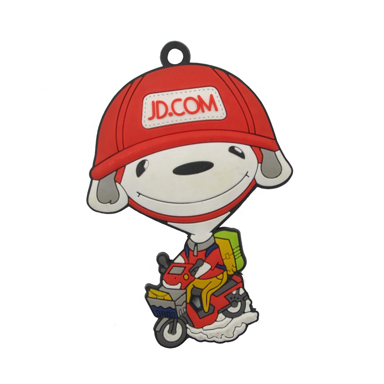 High quality cheap charms custom plastic epoxy acrylic cartoon character funny cute key chain / keychains