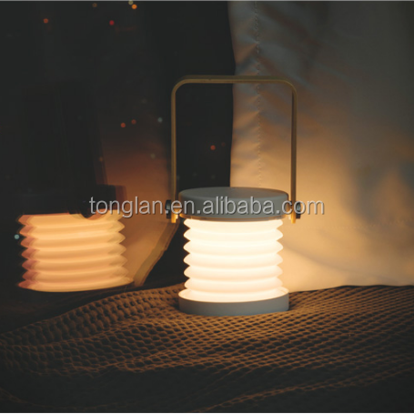 New Arrivals Portable Lamp Foldable Wall Light Bedroom Warm White Bed Side Wall Lamps Wholesales Convenient Home Desk Lighting