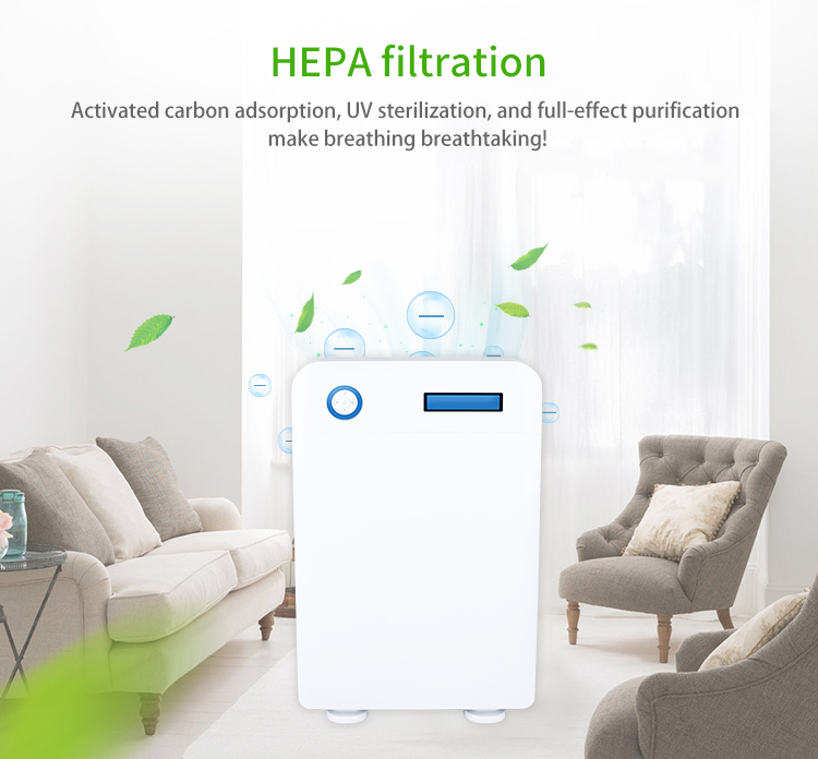 Best Air Cleaner Purifier Hepa Filter Room Air Purifier Air Cleaner With Water Tank