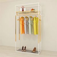Wholesale Commercial Grade Garment Retail Store Fixture Boutique Clothing Display Furniture For Sale