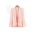 Pink Blazer Fashion Blazer Women  Slim Cape Blazer