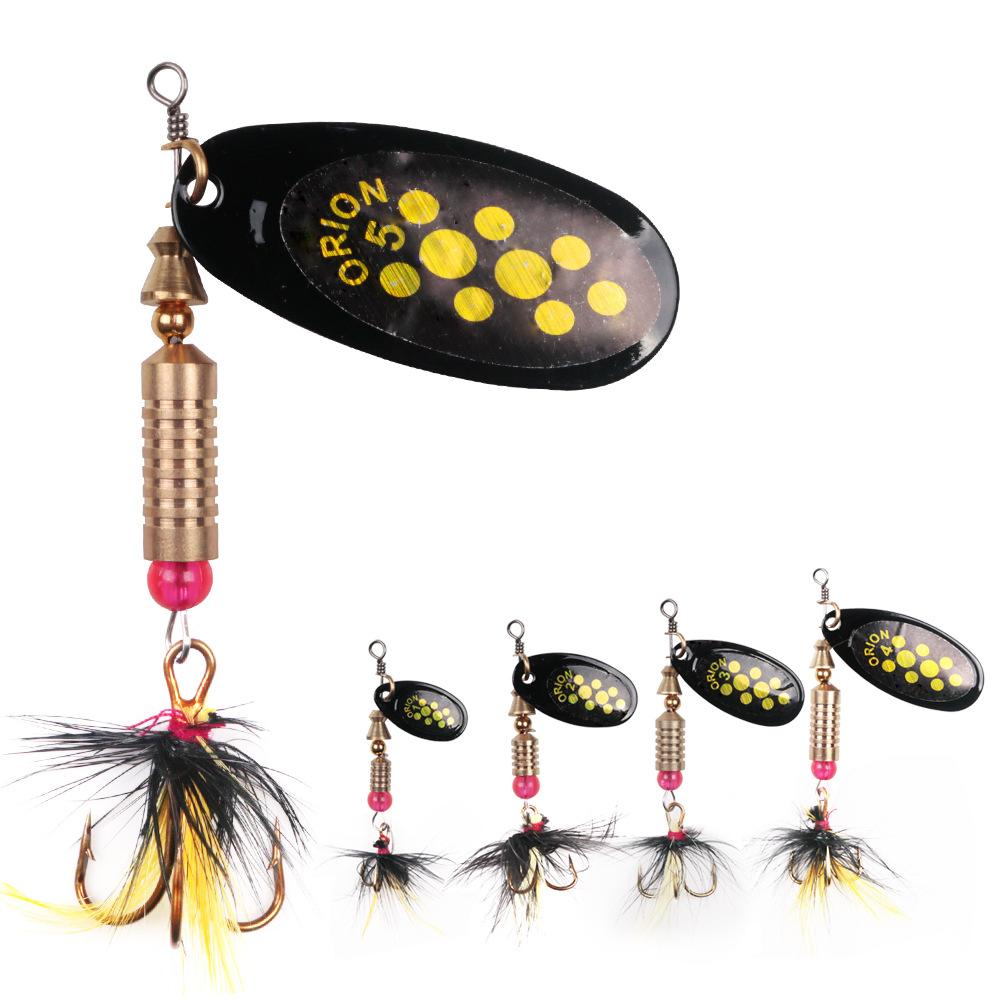Lot 30 pièces pêche leurres tourner Paillettes Métal leurres de haute qualité Fishing Tackle