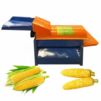 Diesel driven or electric driven fresh corn peeling machine sweet corn machine