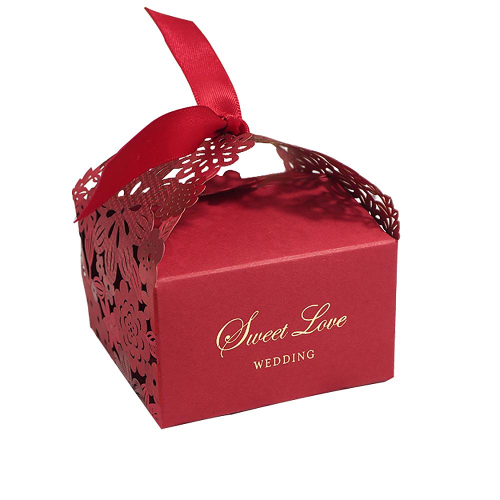 Cake Christmas Single Cupcake Box Package Disposable