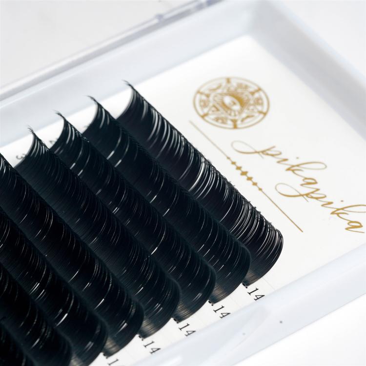 2019 Professional Private Label Cílios Vison siberian Extensão Dos Cílios de Seda Macia Barato Popular russa Extensão Dos Cílios de Volume