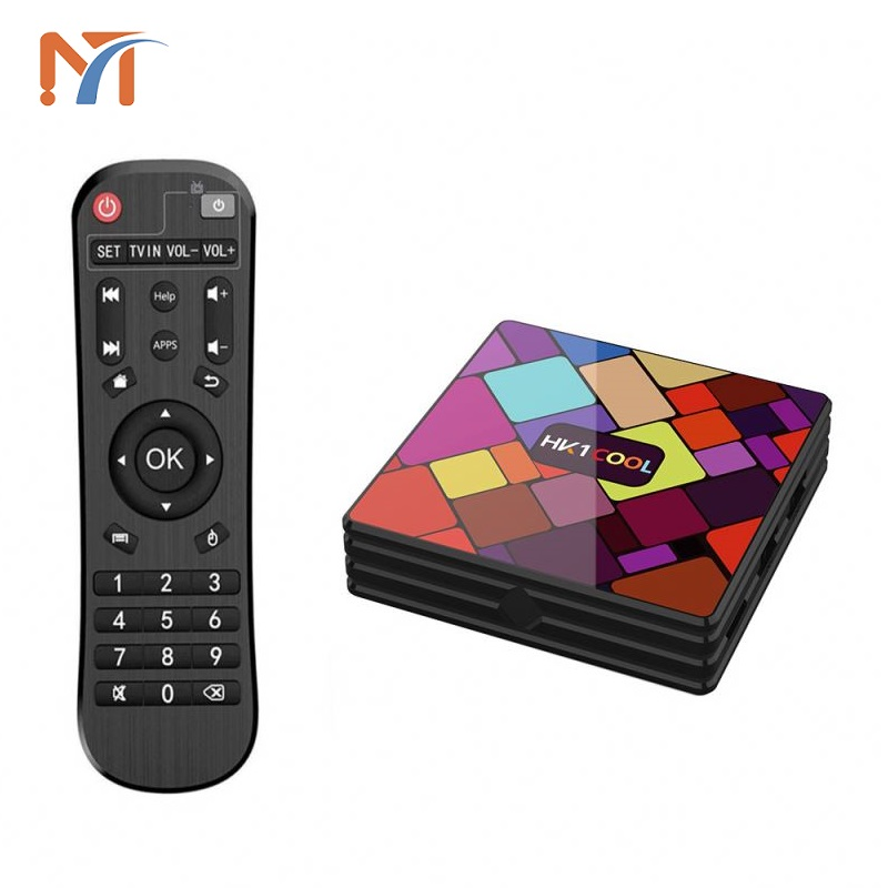 2019 neueste Produkte Rockchip RK3318 Quad Core Dual Band Wifi 4k Ultra Hd 4k BT 4,0 HK1 KÜHLEN 4G + 64G Android Tv Box Media Player