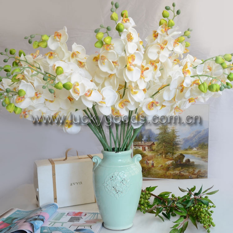 LF345 Real touch High quality artificial butterfly orchid