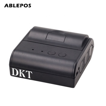 80mm thermal printer with portable thermal printer