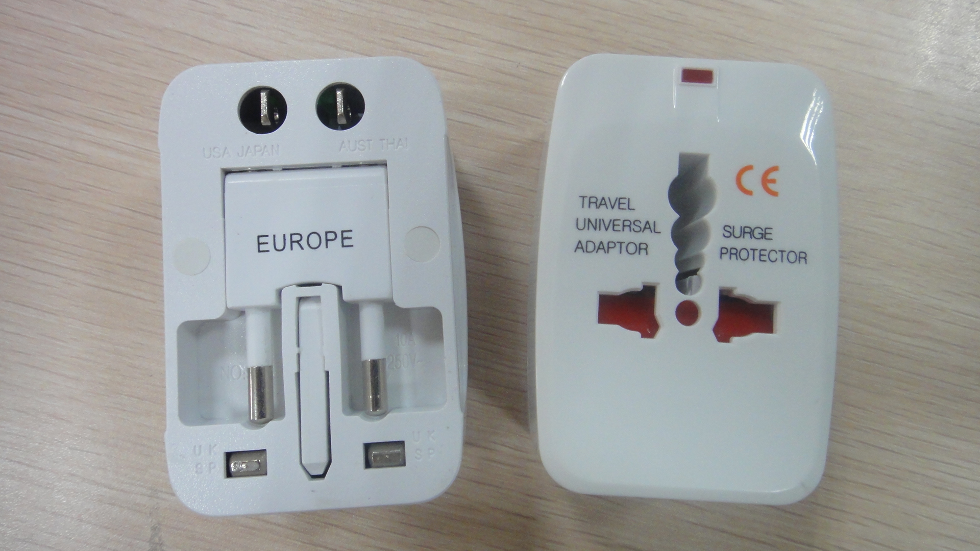 OEM EU uk us 220v international universal best eu outlet type g travel power electrical charger plug adapter socket converter