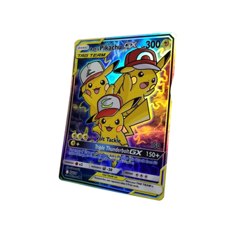 100% Pvc Plastic Card 24k Playing Pokemon Trading Game Custom Printed Oracle Cards