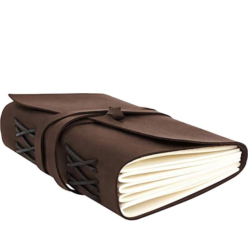 Pelle di bufalo Ufficiale di Scrittura Diario di Viaggio Notebook