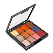 Private Label <span class=keywords><strong>MOQ</strong></span> 100 Natur Glow Make-Up Set <span class=keywords><strong>12</strong></span> Farben Tragbare Lidschatten-palette