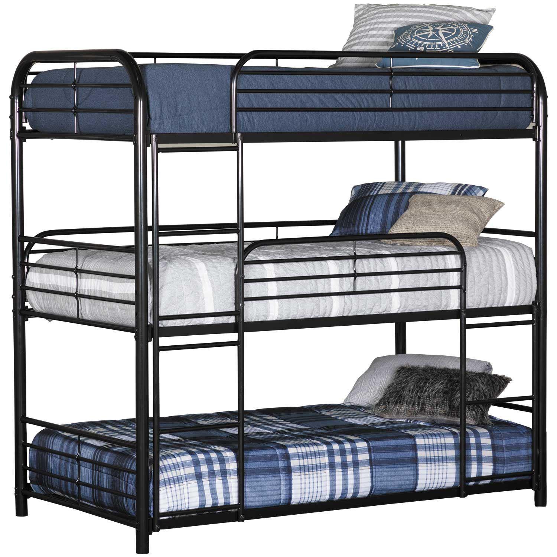 SW-B04ราคาถูกโครงเหล็ก3ชั้นโลหะเตียงสามชั้นขาย