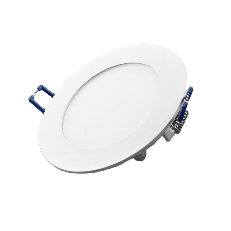 6W 18W Led 12V Dc Flat Panel Lighting 105Mm Cut Out Size Light Price Panel Lights Dimmable Aluminium