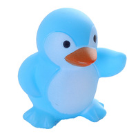 Cute Animals Duck Swimming Water Toys Colorful Soft Rubber Float Squeeze Sound Squeaky Bathing Toy For Baby Bath Toys
