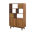 Wooden antique wall display modular book shelf display rack for home or office