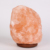 3-5 kgs Himalayan Salt Lamp with Dimmer Switch - All Natural and Handcrafted with Wooden Base