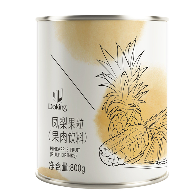 Popular selling and good quality Export Quality Pineapple Fruit pellet canned foods