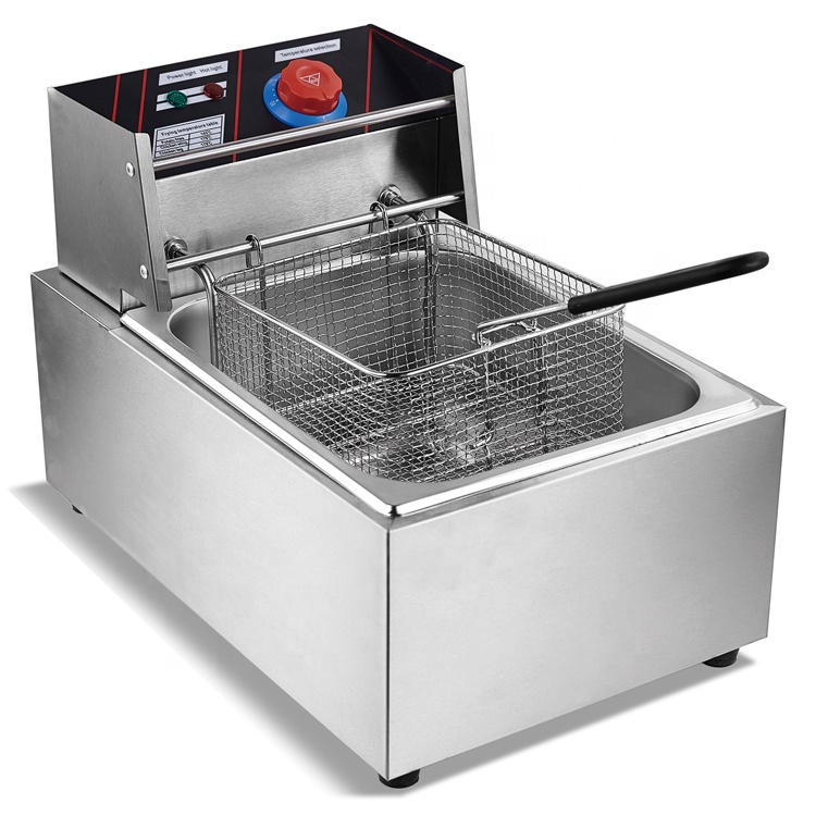 CE Approved Wholesale Stainless Steel <strong>Commercial</strong> <strong>Deep</strong> <strong>Fryers</strong> Electric Factory