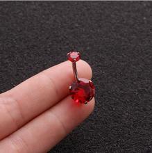 10 мм микс Кристалл Циркон Анти аллергия простой лежак из нержавеющей стали серьги уха ногтей пупка кольца пупка пирсинг(Китай)
