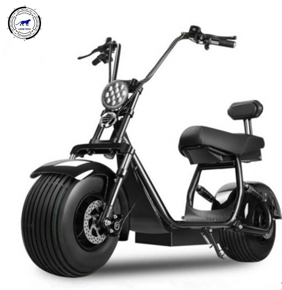 60V Voltage And 80Km Range Per Charge 12Inch Tyre Self Balancing <strong>Electrical</strong> Scooter With Handel For Sale