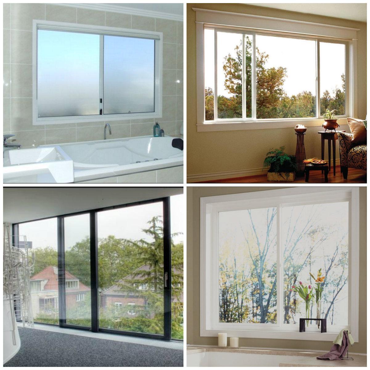 Australia standard aluminium window/double tempered glazed material window/ double panel aluminium  frame sliding window