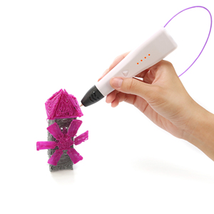 Hot selling fashion 3D pen printing DIY printer pen USB power supply and power bank baby charger 3D plastic