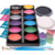 2019 factory hot sale custom color cheap neon glow face paint kit for kids