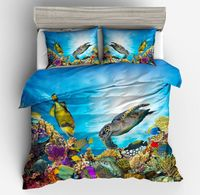 Duvet Cover Set Full/Queen/King, 3d digital printing bedding set