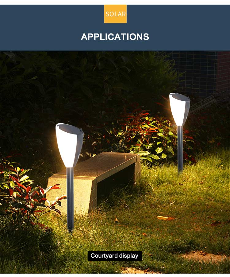ALLTOP Outdoor IP65 Landscape Decoration lawn lamp LED Garden Solar Christmas Music garden pathway stake Light