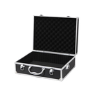 Tool/ Camera Hard Aluminum Metal Carrying Case/Travel Briefcase-Black